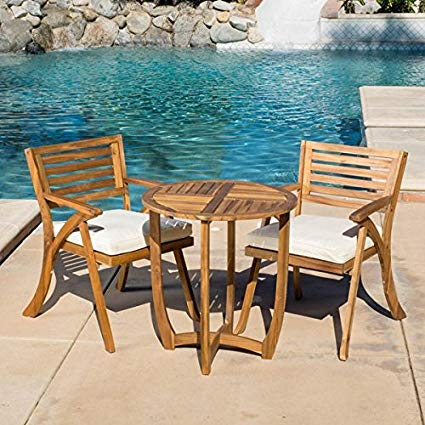 Amazon.com : Patio Furniture Sets, Outdoor Bistro Sets, Brown