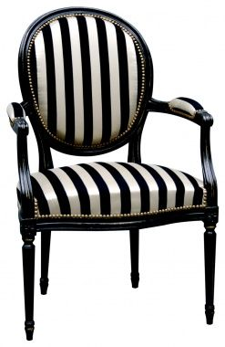 Get black and white chairs for   living room and make it comfortable