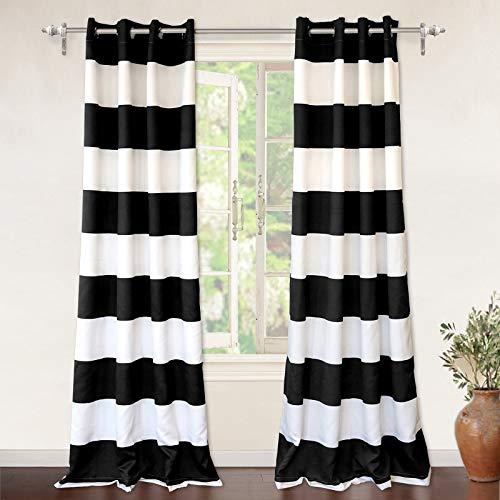 Black and White Drapes: Amazon.com