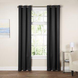 Black & White Curtains & Drapes You'll Love | Wayfair