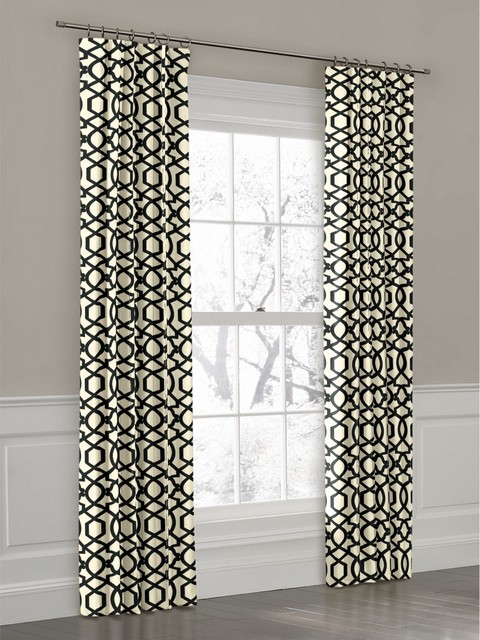 Creative of Black White Gray Curtains Decor with Area Rugs Inspiring