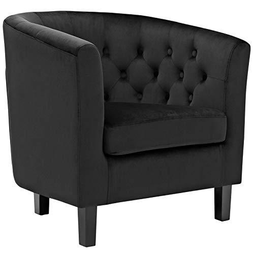 Black Accent Chairs: Amazon.com