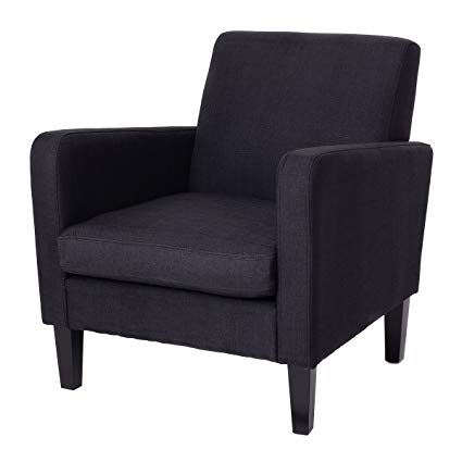 Amazon.com: Giantex Accent Leisure Upholstered Arm Chair Single Sofa
