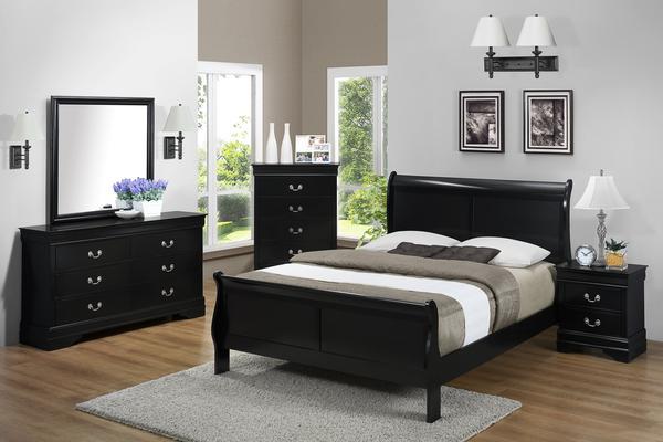 Philip Black Queen Bedroom Set u2013 Katy Furniture