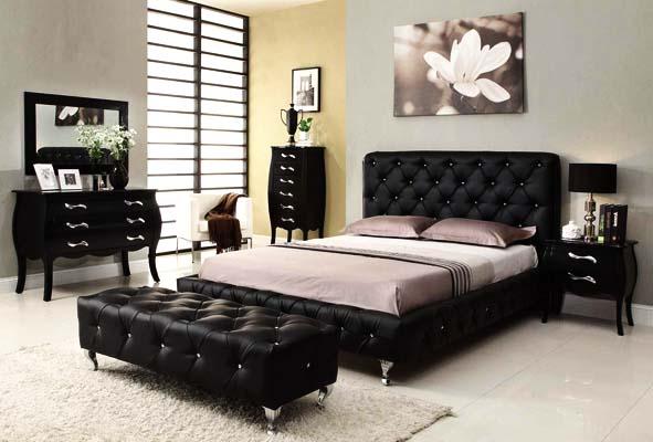 How to decorate your bedroom with black bedroom furniture u2013 BlogBeen
