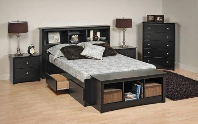 29 Super Unique Bedrooms With Black Furniture | The Sleep Judge