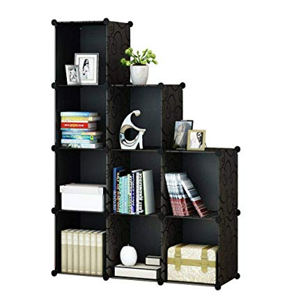 Amazon.com: KOUSI Portable Storage Shelf Cube Shelving Bookcase