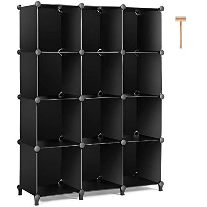Amazon.com: TomCare Cube Storage 12-Cube Bookshelf Closet Organizer