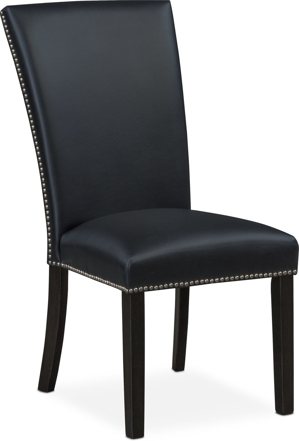 Artemis Side Chair - Black | Value City Furniture and Mattresses