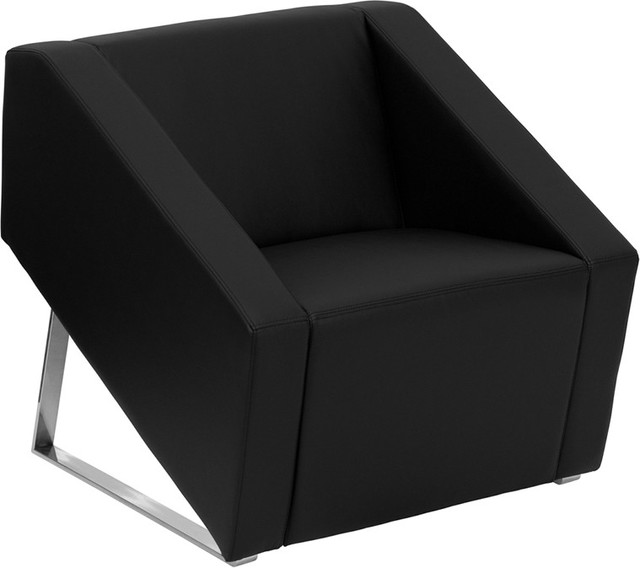 Flash Furniture Black Chair - Modern - Armchairs And Accent Chairs
