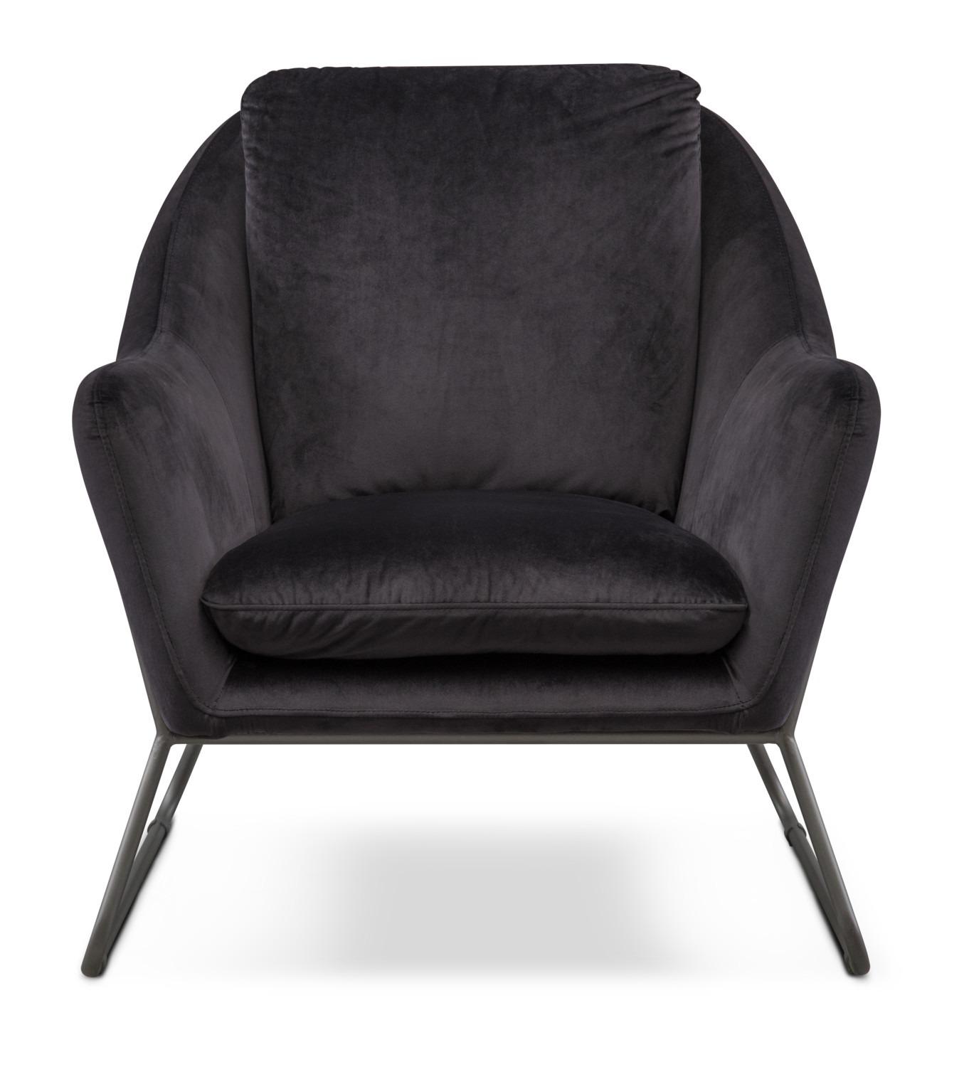 Willow Accent Chair - Black | Value City Furniture and Mattresses