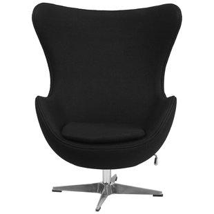 Black And Chrome Chair | Wayfair