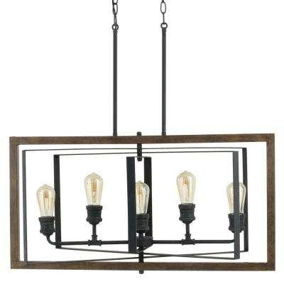 Black - Chandeliers - Lighting - The Home Depot