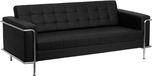 Amazon.com: Flash Furniture ZB-LESLEY-8090-SOFA-BK-GG Hercules