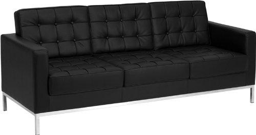 Amazon.com: Flash Furniture HERCULES Lacey Series Contemporary Black