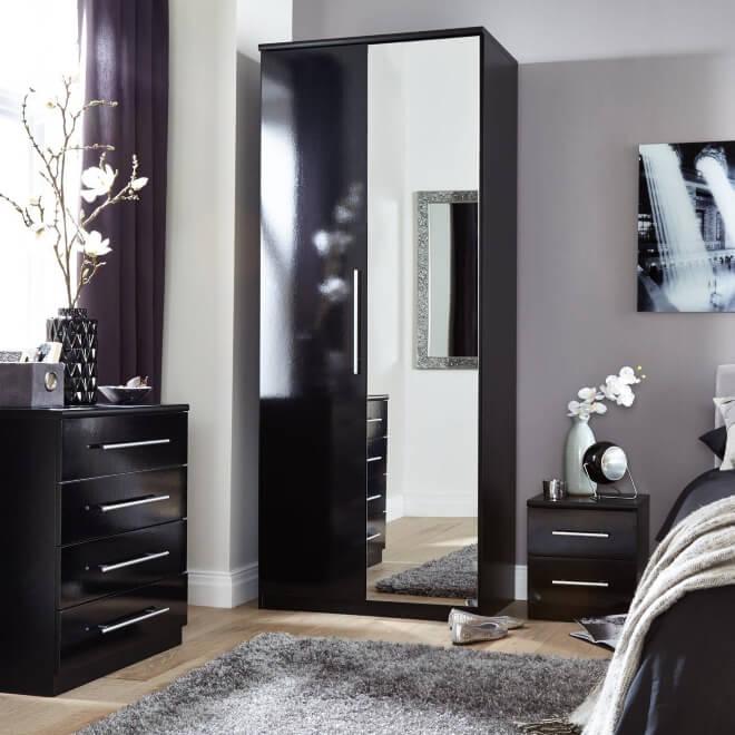 Bedroom Bedroom Furniture Wardrobes Matching Bedroom Furniture Black