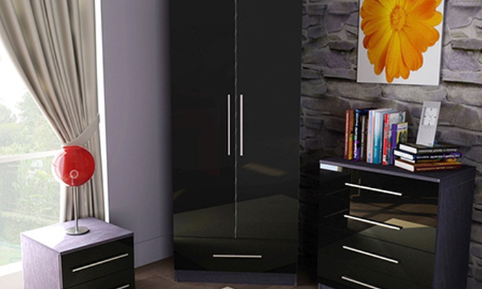 Gloss Bedroom Furniture | Groupon Goods