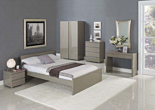 Bedroom High Gloss Bedroom Furniture Set White Gloss Furniture