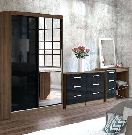 Black And White Bedroom Furniture Black Gloss Bedroom Furniture