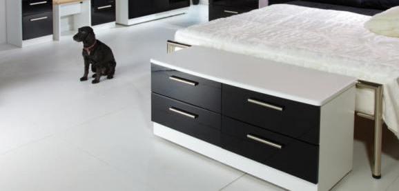 Knightsbridge High Gloss Bedroom Furniture