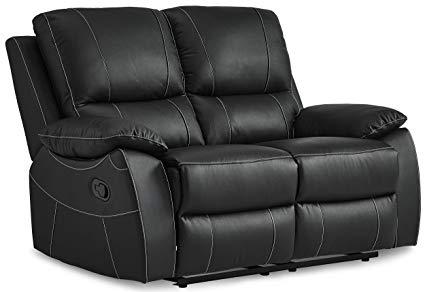 Amazon.com: Homelegance Greeley Reclining Loveseat Top Grain Leather