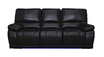 Amazon.com: New Classic Electra Dual Recliner Sofa, Mesa Black