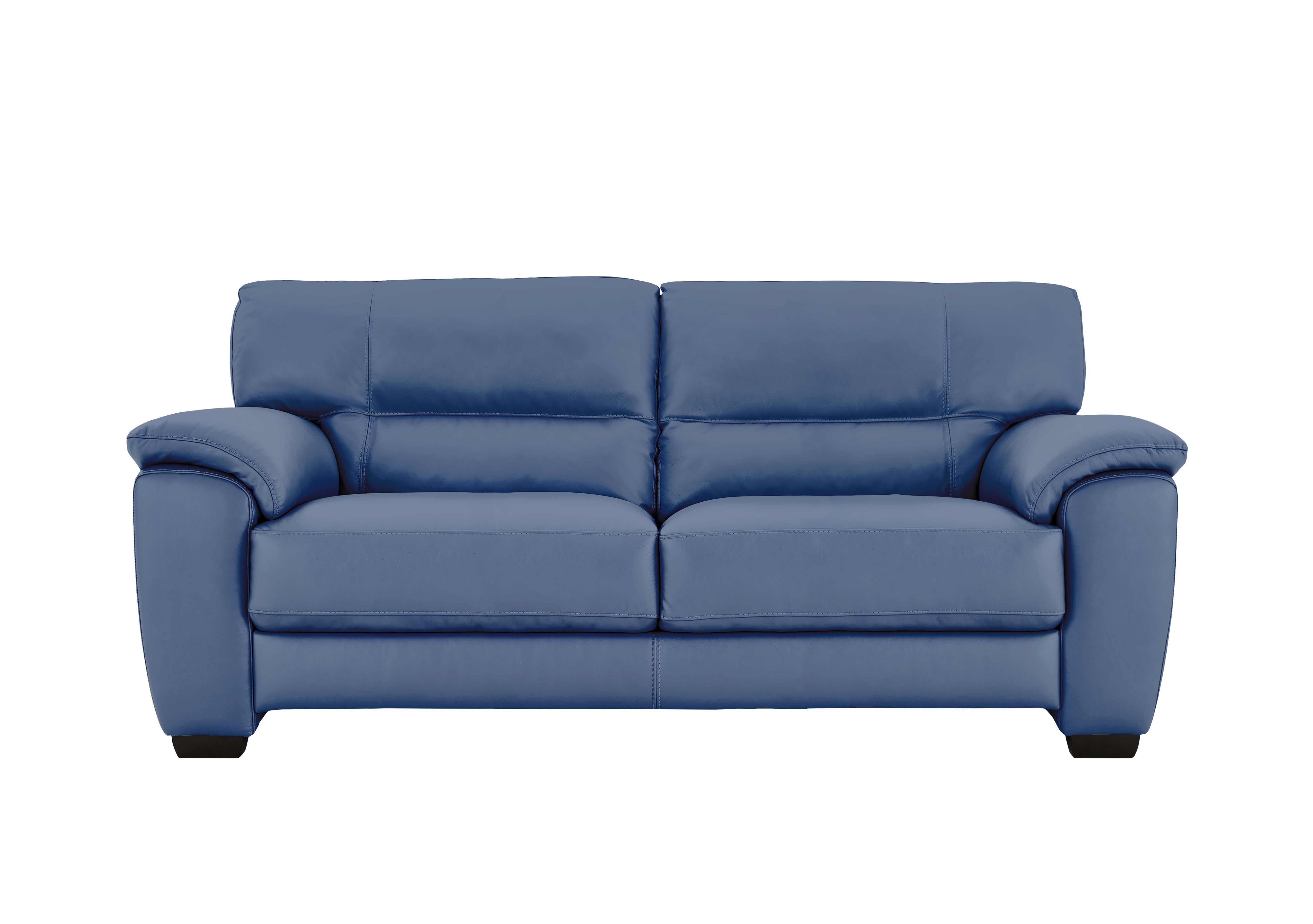 Blue Leather sofas - Furniture Village