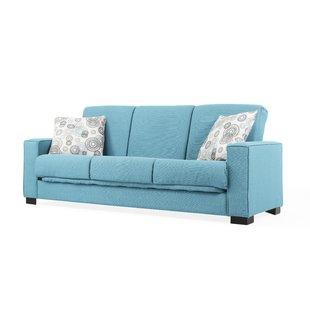 Blue Sofa Beds You'll Love | Wayfair