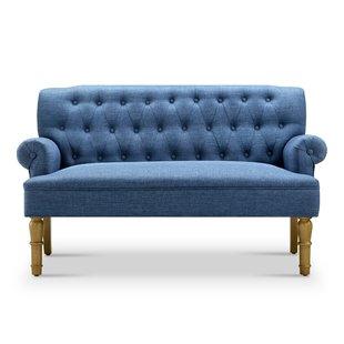 Blue Loveseats & Settees | Birch Lane