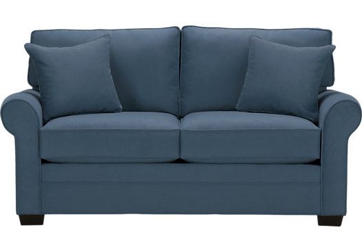 Finding the spot-on furniture – blue loveseats