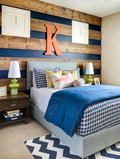 15 Inspiring Bedroom Ideas for Boys | Thrifty Thursday @ LWSL | Teen