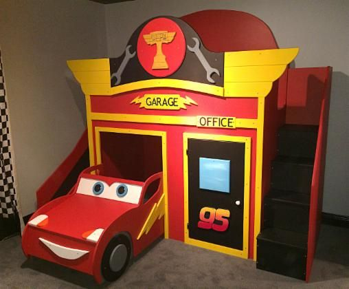 BOYS BEDS - UNIQUE CUSTOM KIDS THEME PLAYHOUSE BEDS - BEST PRICES