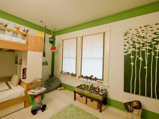 Boys' Bedroom and Bathroom Ideas | HGTV