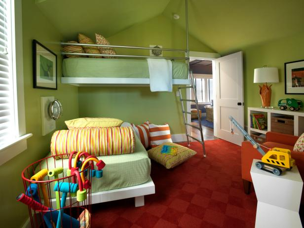 Boys Room Ideas and Bedroom Color Schemes | HGTV