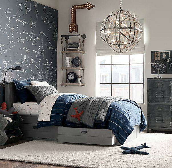 87 Gray Boys' Room Ideas | Storage | Pinterest | Grey boys rooms