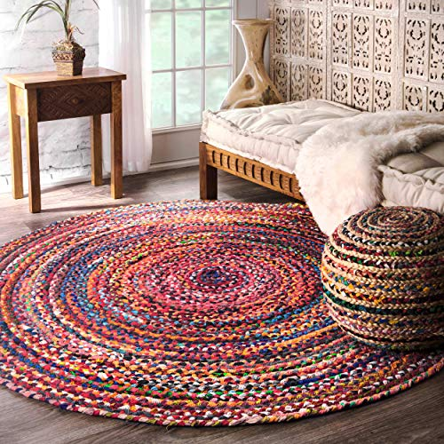 Round Braided Rug: Amazon.com