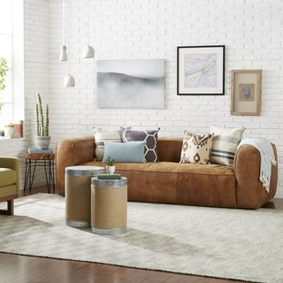 Buy Brown, Leather Sofas & Couches Online at Overstock   Our Best