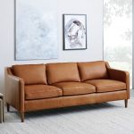 Brown leather sofas for modern   living rooms