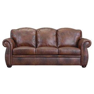 Brown Leather Sofas You'll Love   Wayfair