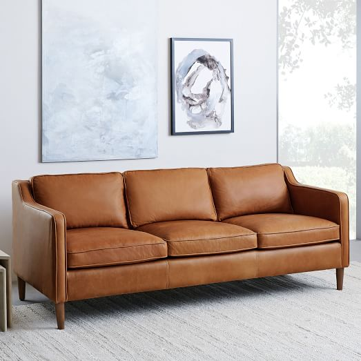 Brown leather sofas for modern living rooms - CareHomeDecor