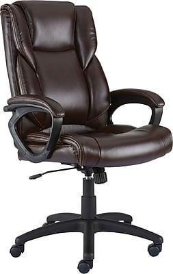 Staples Kelburne Luxura Office Chair, Brown | Staples