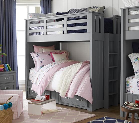 Belden Twin-Over-Twin Bunk Bed   Pottery Barn Kids