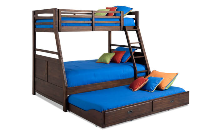 Chadwick Twin/Full Bunk Bed With Trundle   Bobs.com