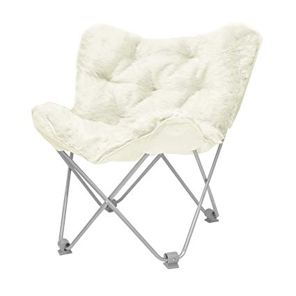 Amazon.com: Urban Shop Butterfly Chair Not Applicable, Adult, Ivory