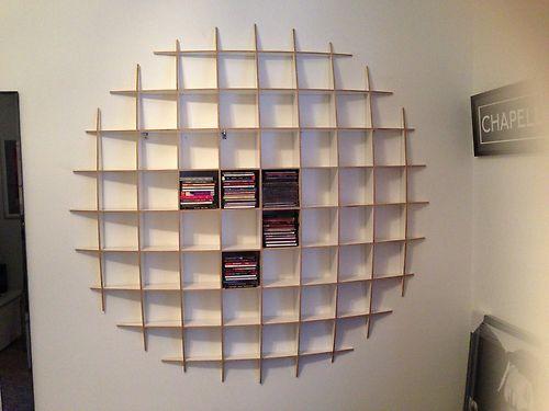 CD Storage Retro Shelving Unit - Unto This Last - Cost £145 | eBay
