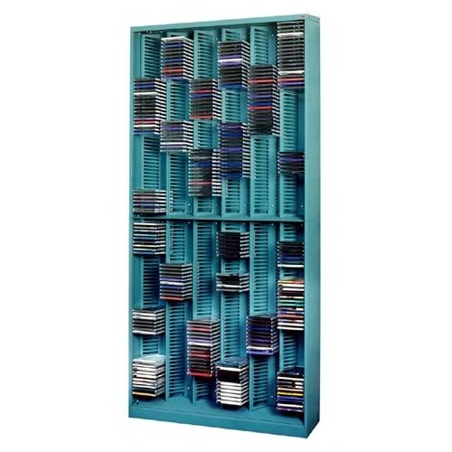 CD Jewel Case Storage Racks | DVD Storage Cabinet with Slots | CD