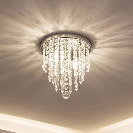 lifeholder Mini Chandelier, Crystal Chandelier Lighting, 2 Lights