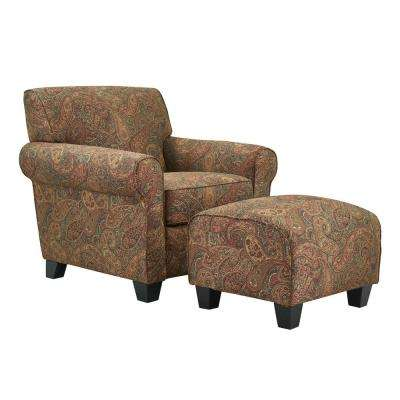 With Ottoman - Accent Chairs - Chairs - The Home Depot