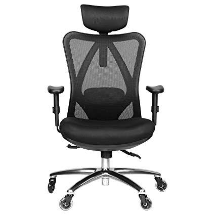 Amazon.com : Duramont Ergonomic Adjustable Office Chair with Lumbar