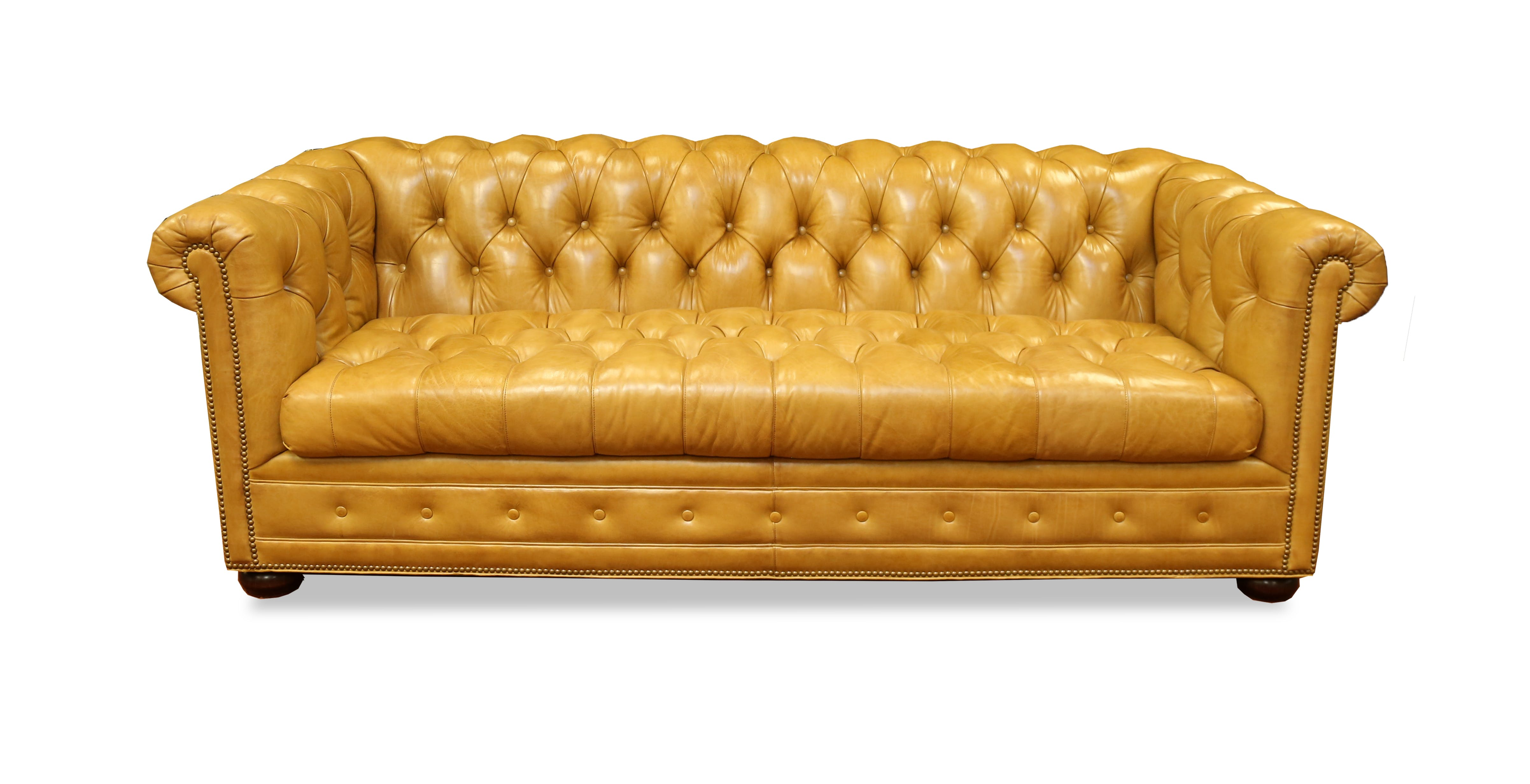 Kent Leather Chesterfield Sofa